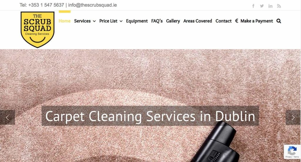 The Scrub Squad Cleaning ServicesThe Scrub Squad Cleaning Services' Homepage