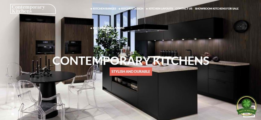 Contemporary Kitchens' Homepage